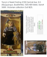 Victorian collection doll 1594 mi