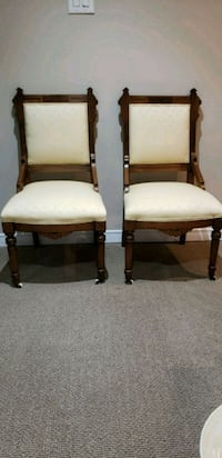 There are six antique chairs Waterloo, N2K 4L5