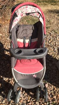 Baby's gray and pink stroller & car seat  Centennial, 80015