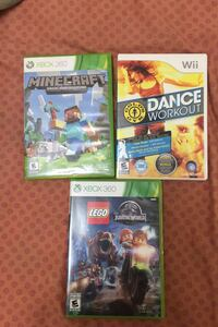 Wii and Xbox games $15 and ds game $10 Mississauga, L5V 1Z3