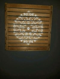 Cranberry Crate Wall Decor