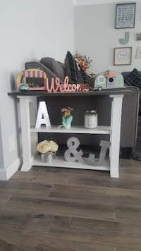 Custom Rustic Farmhouse Side End Table Country Sty Los Angeles