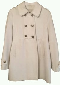 American Rag Double Breasted Cream Color peacoat