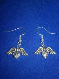 Flying Heart Earrings  Corpus Christi