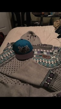 Lifted Research Group Hoody & Mitchell and Ness snapback Houston, 77067