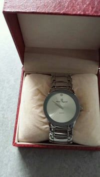Charles Raymond Silver Watch with box