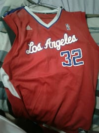 red and white Los Angeles Clippers 32 Blake Griffin basketball jersey Calgary, T3J 4K5