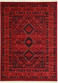 B new Bokhara design rug size 8x11 nice red carpet Persian style rugs  Burke, 22015