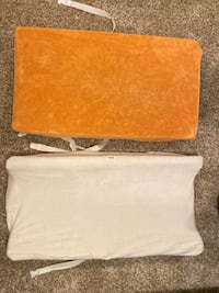 Changing table cushions