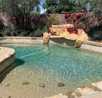 Swimming pool cleaning Spring