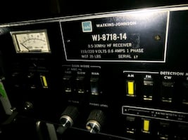 Watkins-Johnson WJ-8718 0.5-30 MHz Hf Receiver - $
