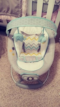 gray and blue deluxe bouncer Portsmouth, 23701