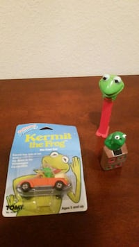 two green and red plastic toys Salinas, 93906
