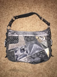 Coach grey and black hobo bag - REAL NOT A KNOCK OFF