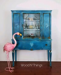 Sea Sisters Inspired Cabinet