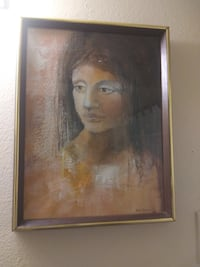 PAINTING OF A WOMAN BY ANN RALEIGH