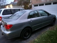 2003 toyota carolla le with leather interior Pickering