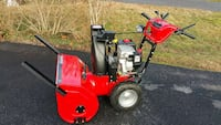 red and black snow blower Bowie, 20720
