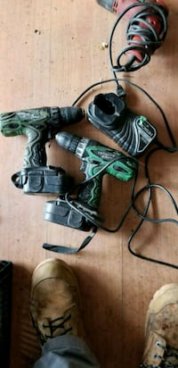 black and green corded power tools Kitchener, N2G 2M7