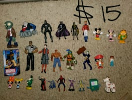 $15 action figure lot