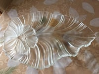 clear cut-glass serving trays Longueuil, J4Z 3E9