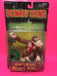 DK Toysite High Swingin' Donkey Kong 1999 Action Figure Nintendo Port Perry