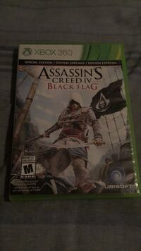 Assassin's Creed IV Black Flag Xbox 360 game Mississauga, L5M 4B2