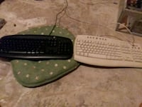 two computer keyboards with mouse and usb vacuum Cambridge, N1T 2E1