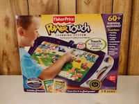 New FISHER PRICE Power Touch Book Learning System Ages 3-8 Pre K - 2nd Chantilly, 20151