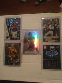 5 nice football cards for sale  Stanley, 83278