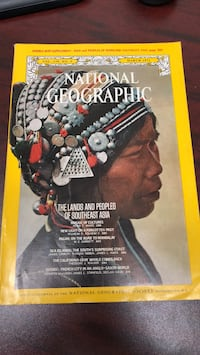 National Geographic March 1971 Plaucheville, 71362