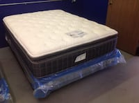 New Queen Mattress Set Still In Factory Plastic Woburn