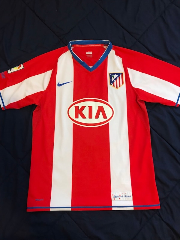 sports shoes 3a9c5 eac16 Authentic Atletico Madrid Jersey