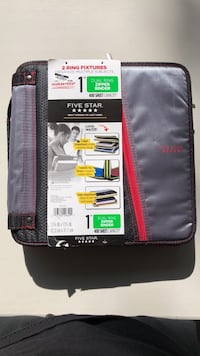 """Dual/Double 1"""" 3-Ring Binder West Haven, 84401"""
