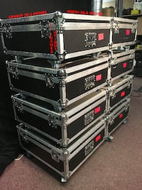 BRAND NEW ROAD SOLID AND CLEAN ROAD CASE WITH CASTERS  Markham