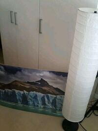 Ikea Lamp and Ikea BRAND NEW mountain print and  Burnaby, V5A 0A1