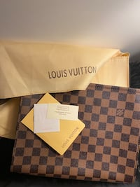 Brand new Leather LV pouch/ clutch/ tablet holder Toronto, M3A 2G4