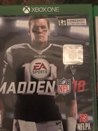 Madden 18 for Xbox 1 Frankfort, 40601