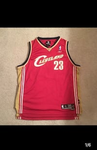Cleveland Cavaliers Lebron James jersey  Frederick, 21702