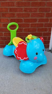 Elephant ride on toy Harvest, 35749