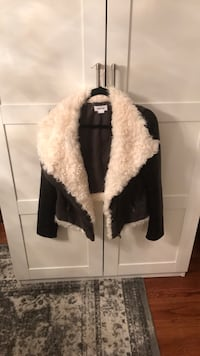 Gorgeous Helmut Lang shearling lined Moto jacket Nutley, 07110