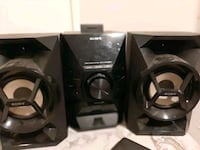 Sony bass boosted audio system  Toronto, M6M 5G6