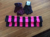 two pairs of gloves and warmers Los Angeles, 90026