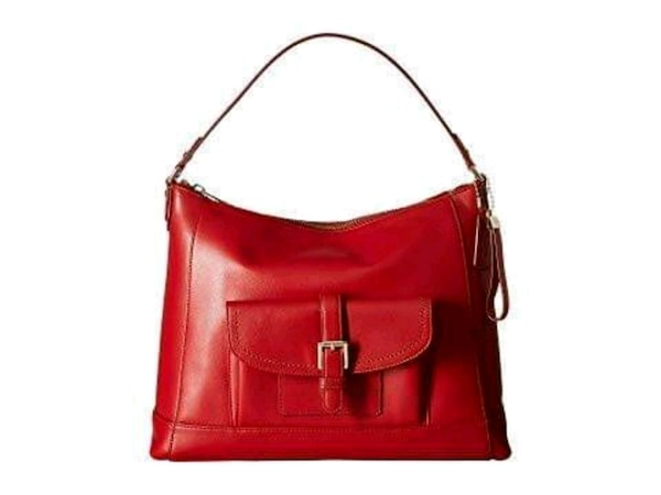 a6976be5bf22 Used red leather 2-way handbag for sale in Dallas - letgo