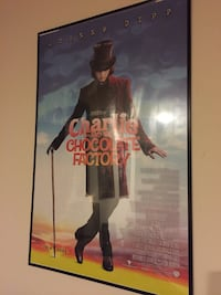 Charlie and The Chocolate Factory- Framed Movie Poster 14 km