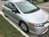 2006 Honda Civic DX-VP, clean! Low kms! Brampton, L7A 1Z3