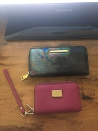 Purple Michael Kors Wristlet and Steve Madden Wallet $15 EACH Or $25 BOTH Kitchener, N2A 1B2