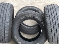 Truck tires  Set of 4 Goodyear Wrangler Fortitude H/T. Soddy Daisy, 37379