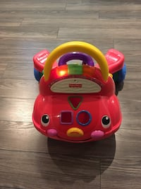 Fisher price ride on musical car walker toy