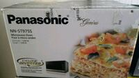 white and black Samsung microwave oven box 552 km